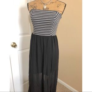 Speechless Maxi Dress with sheer liner
